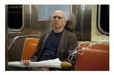 LARRY DAVID - CURB YOUR ENTHUSIASM AUTOGRAPHED SIGNED A4 PP POSTER PHOTO