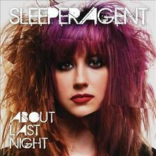 About Last Night, Sleeper Agent CD BRAND NEW SEALED FREE SHIPPING IN THE USA