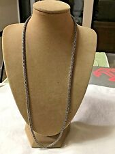 """RARE JOHN HARDY NECKLACE CLASSIC CHAIN  24"""" SAUTOIR  STERLING SILVER"""