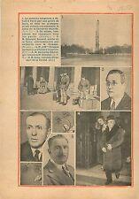 Manifestation 6 Février Grève de Taxis Place de la Concorde Edouard Renard 1934