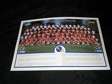 VINTAGE DENVER BRONCO'S 1996 TEAM POSTER FORD