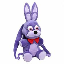 "Five Nights at Freddy's 18"" Purple Bonnie Plush Backpack-FNF 18"" Backpack-New!"