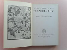 An Introduction to Typography by Philip Van Doren Stern, 1932