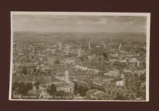 Glos Gloucestershire BRISTOL panoramic view from Cabot Tower 1934 RP PPC