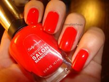 NEW! Sally Hansen Complete Salon Manicure nail polish ALL FIRED UP