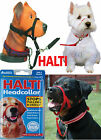HALTI HEAD COLLAR STOPS PULLING KINDLY, 5 SIZES in BLACK, INSTANT CONTROL