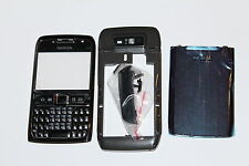 HOUSING COVER FACIA CASE + MIDDLE CHASSIS FOR NOKIA E71 Black