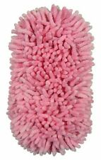 Pink Microfibre 2 in 1 Noodle Pad Cleaning Sponge