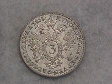 SD39: 3 Kreuzer ( Groschen ) 1835 A Wien Ferdinand selten