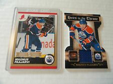 Magnus Paajarvi `11/12  GOLD Rookie Card & Heirs To The Throne Jersey Card Blues