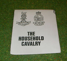 VINTAGE ACTION MAN 40th LEAFLET THE HOUSEHOLD CAVALRY LIFEGUARD BLUES & ROYALS