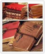 Blank Pages Journal Diary Notebook Retro Classic Vintage Leather Bound