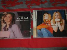 Songs from Ally McBeal/New Songs from Ally McBeal Vonda Shepard 2xCD joblot!