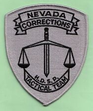 #28J HIGH DESERT TACTICAL NEVADA CORRECTIONS HRT STATE POLICE SWAT PATCH FBI *