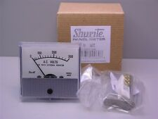 "1 Shurite 8407Z 850 Series 0-300AC Volts Panel Meter 2.5"" Mounting Hole"