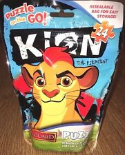 Disney Junior The Lion Guard Kion - Puzzle on the Go 24 Pieces Resealable