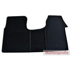 Esteras de goma tapices de goma 3 piezas para Opel Vivaro recuadro f7 a partir del año 2001 - 2014