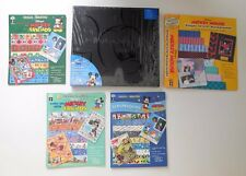 NWT Disney Black Mickey Mouse 12x12 Scrapbook Album & Paper Pizazz Books Lot New