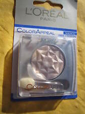 OMBRE PAUPIERES-L'OREAL-BLANC IRISÉ-COL.21-MAQUILLAGE YEUX-NEUF