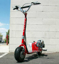 New ScooterX  Red GO FAST Motor Scooter 49CC GAS Powered Big Power