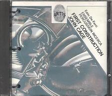 "EDDY DE FANTI - RARO CD 1991 FUORI CATALOGO "" FIRST CONSTRUCTION JOHN CAGE """