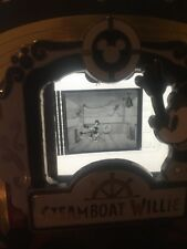 Disney Pin Steamboat Willie  Le Cel Piece Of Movie History Movies PODM Rare