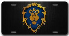L@@K! World of Warcraft Alliance License Plate - WoW