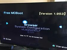 FREE mcboot Multi versione fmcb v1.953 PLAYSTATION 2 ps2 Memory Card 8mb