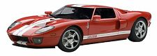 2004 Ford GT Red/White Stripe 1:18 Autoart Diecast Car Model