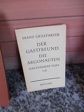 Der Gastfreund / Die Argonauten / Das Goldene Vlies I-II, von Franz Grillparzer
