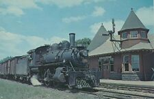 N238 PC 1957 CNR CANADIAN NATIONAL RAILROAD ENGINE #86 CHESLEY ONTARIO SCRAP1959