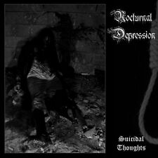 Nocturnal Depression - Suicidal Thoughts ++ CD ++ NEU !!