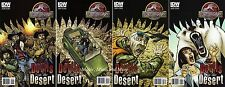 JURASSIC PARK - DEVILS IN THE DESSERT (4) Issue Comic SET #1 2 3 4 IDW 1st print