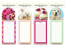 Magnetic Notepad & Pencil - Fridge Jotter & Shopping Lists & Memos - 4 Designs