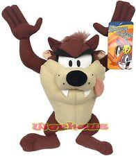 """Looney Tunes TAZ Doll 9"""" TazManian Devil, NEW"""