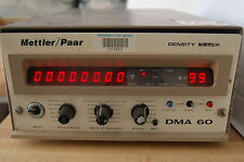 ANTON PAAR - DMA  DENSITY meter 60 measuring cell METER 602