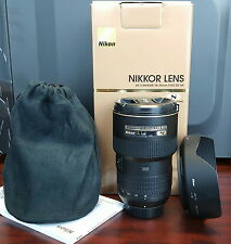 Used Nikon AF-S 16-35mm f/4G ED VR Ultra Wide Angle Lens Mint Condition Warranty