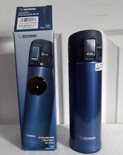 Zojirushi Smoky Blue KHE48 AG 16oz Hot or Cold Drink Thermos Travel Mug