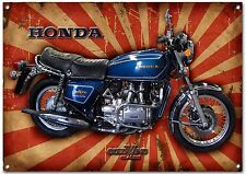 HONDA GOLDWING GL1000 MOTORCYCLE METAL SIGN,VINTAGE HONDA MOTORCYCLES.