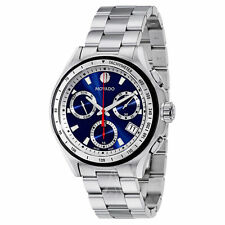 New Movado Series 800, 2600134 Blue Chronograph Mens Watch