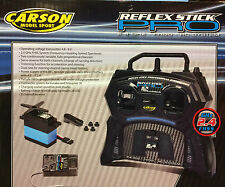 Carson Reflex Stick Pro 3 2.4GHz Transmitter Receiver & Servo 2 Channel C707122