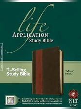 Life Application Study Bible NLT, Tutone (2012, Imitation Leather)