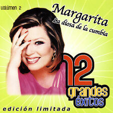 "12 Grandes Exitos, Vol. 2 [Limited] by Margarita ""La Diosa de la Cumbia"" (CD,..."