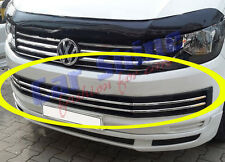 VW T6 Transporter CHROME LOWER GRILLE BARS - 15on - 6pce