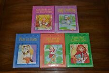 Lot of 5 Little Classics Hardcover Books Ugly Duckling Goldilocks Puss in Boots