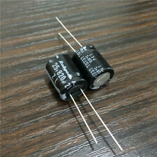 20pcs 25V 820uF 25V Rubycon ZL 12.5x15mm Low Z High Ripple Capacitor