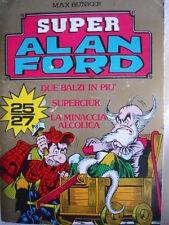Alan Ford Super Alan Ford Serie ORO contiene numeri 25-26-27  [G308]
