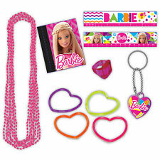 48 Piece Pink Barbie Sparkle Children's Birthday Party Gift Loot Favour Pack