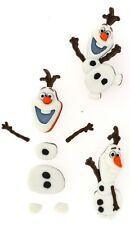 Jesse James Buttons~  Dress It Up  - LiCENSED ~ DISNEY FROZEN ~ OLAF ~ Crafts