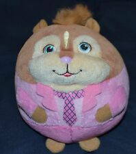 TY Brittany 2012 Alvin and the Chipmunks plush round pink Chipette